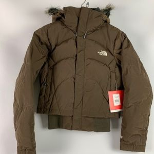 THE NORTH FACE WOMEN'S FURALLURE JACKET SOIL BROWN